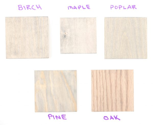 Minwax Classic Gray wood stain colors (1 coat)