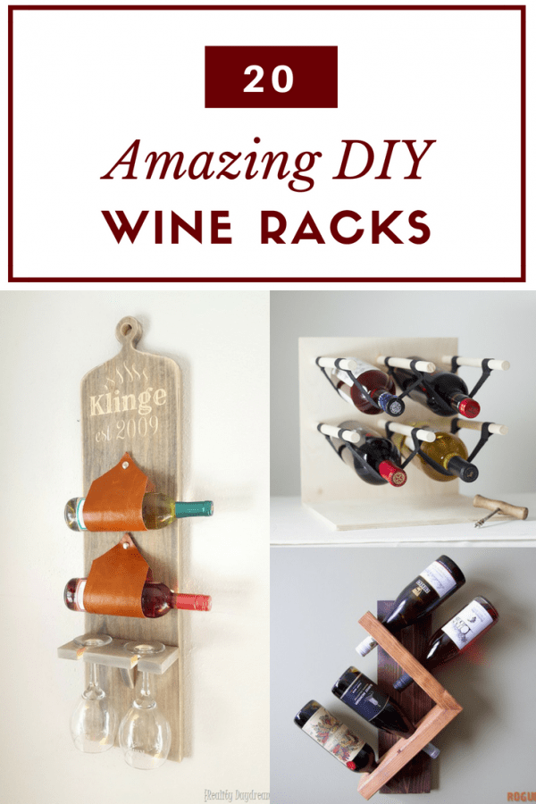20 Amazing DIY Wine Rack Ideas