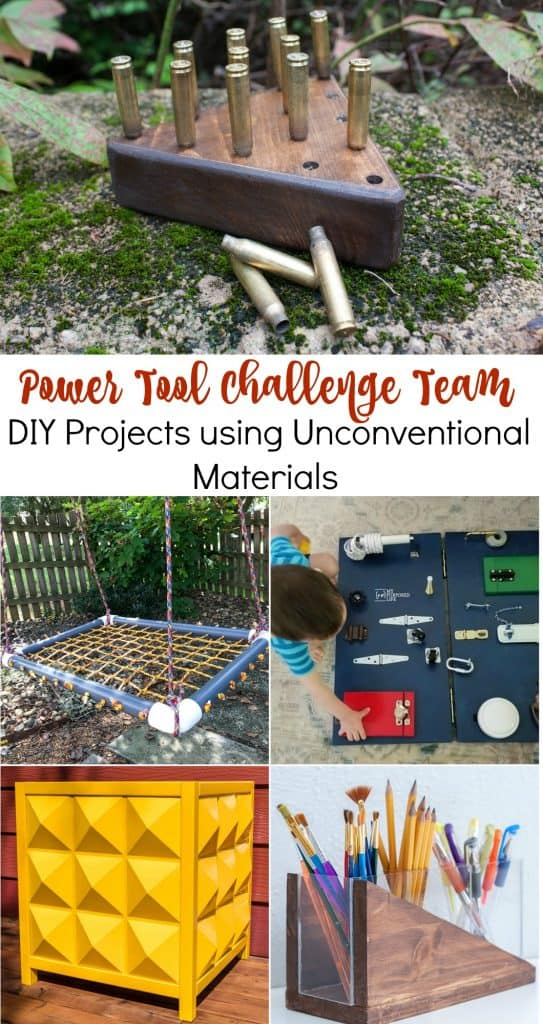 DIY projects made using unconventional materials