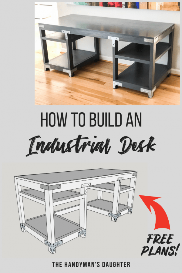 diy industrial computer desk plans and tutorial the handyman s rh thehandymansdaughter com diy industrial desk ideas diy industrial desk ideas