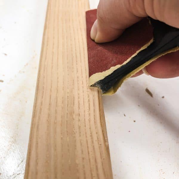contour edge sander