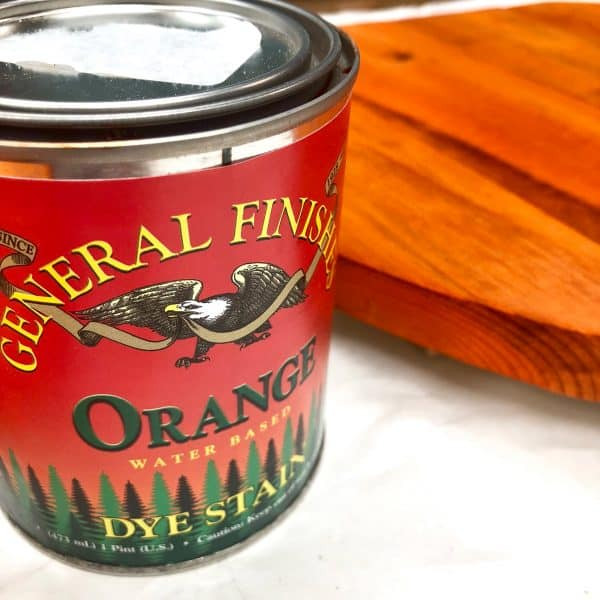general finishes orange wood dye