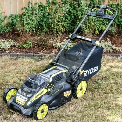 Ryobi Self Propelled Electric Lawn Mower Review