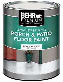 porch and patio floor paint used to paint tile
