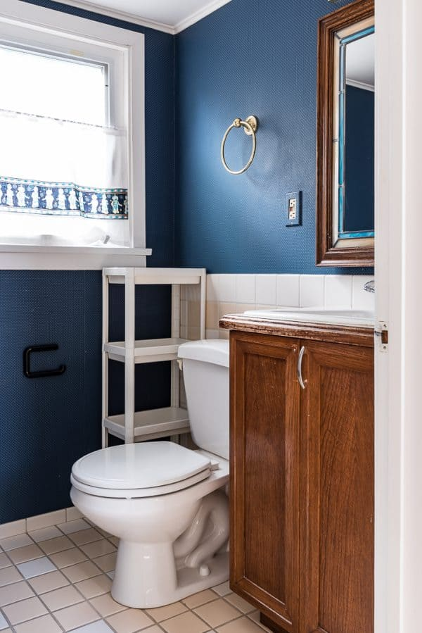 Half bath remodel reveal the handyman 39 s daughter - Half bath remodel ideas ...