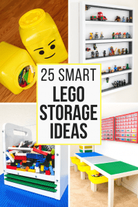25 Smart Lego Storage Ideas