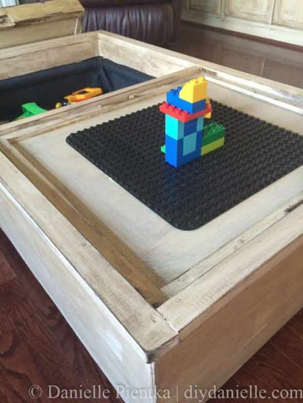Storage Ottoman Lego Table