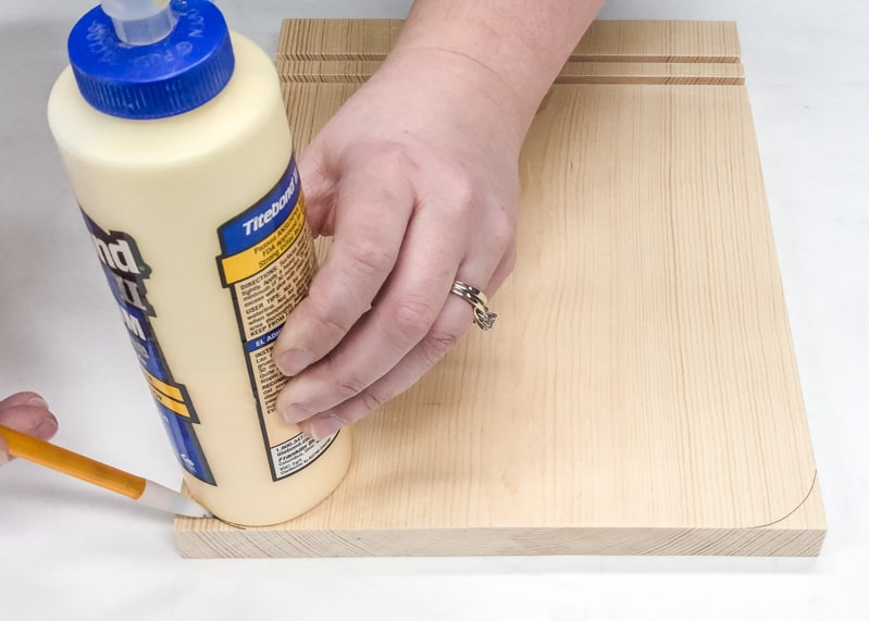 marking rounded corners for DIY lego bin handle