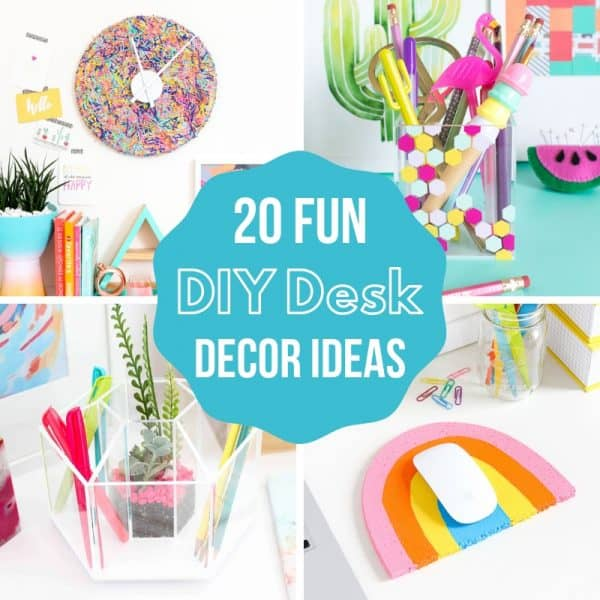 DIY desk decor ideas