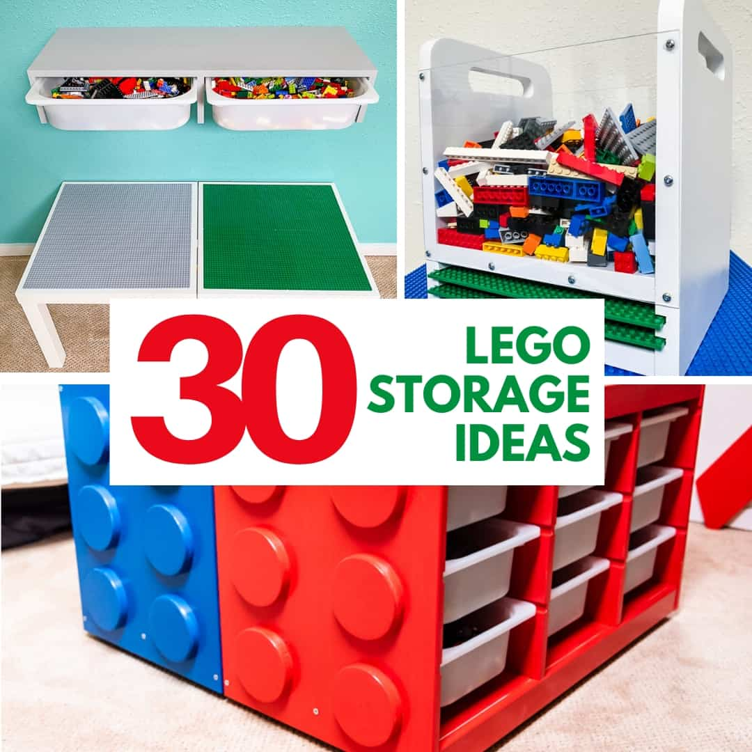 30 Lego storage ideas