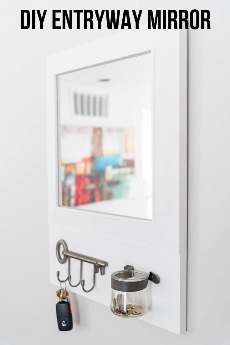 DIY Entryway Mirror