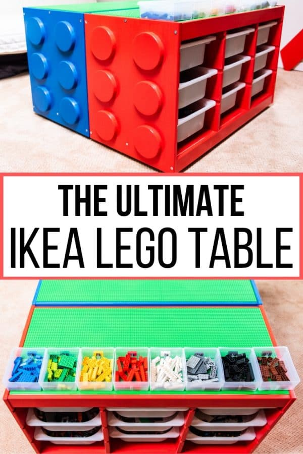 Ikea Lego Table Hack Your Kids Will Love The Handyman S