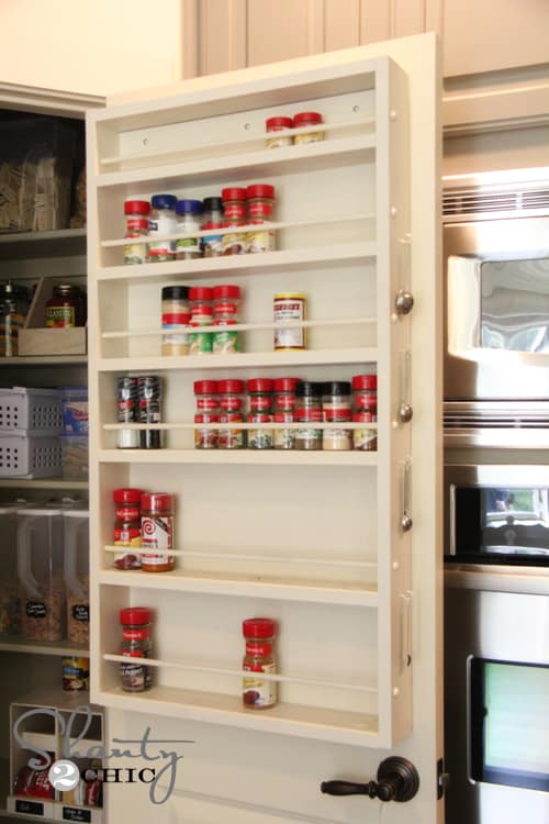 Spice Rack with Plans
