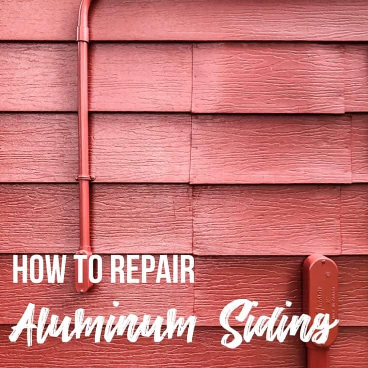 How to Repair Aluminum Siding