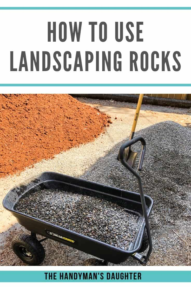 how to use landscaping rocks