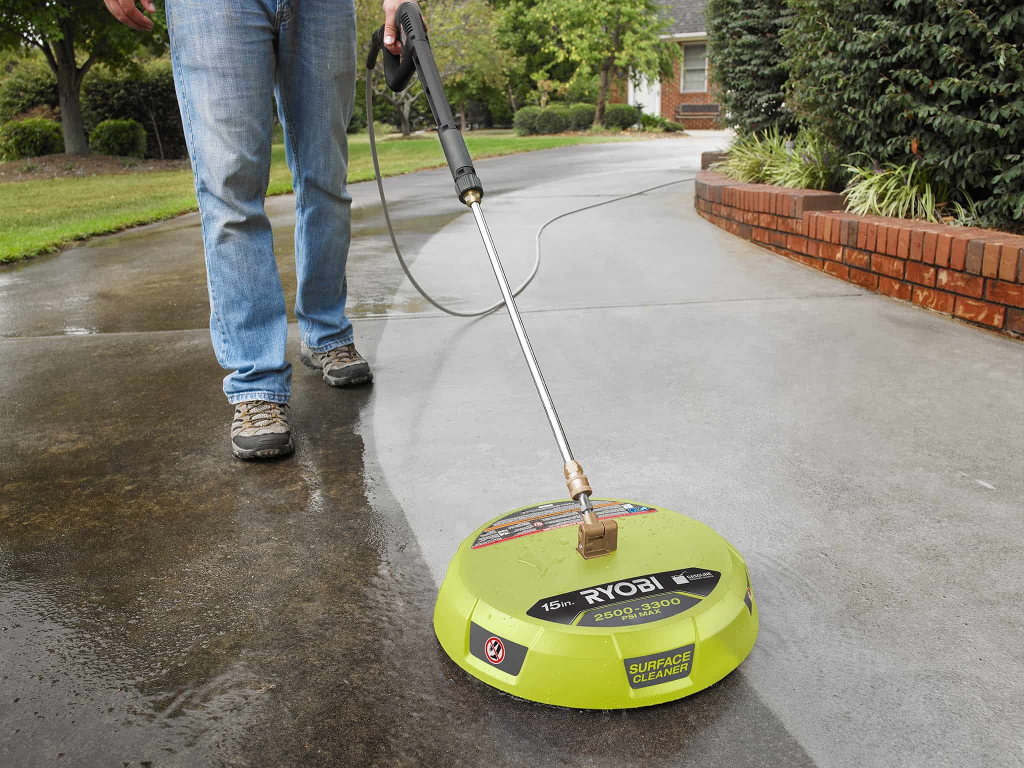 Ryobi power washer with surface cleaner