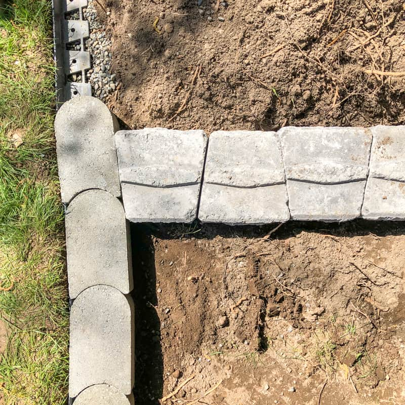 concrete pavers and retaining wall blocks