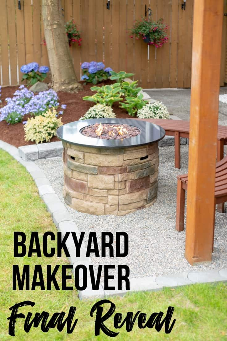 Backyard Makeover final reveal
