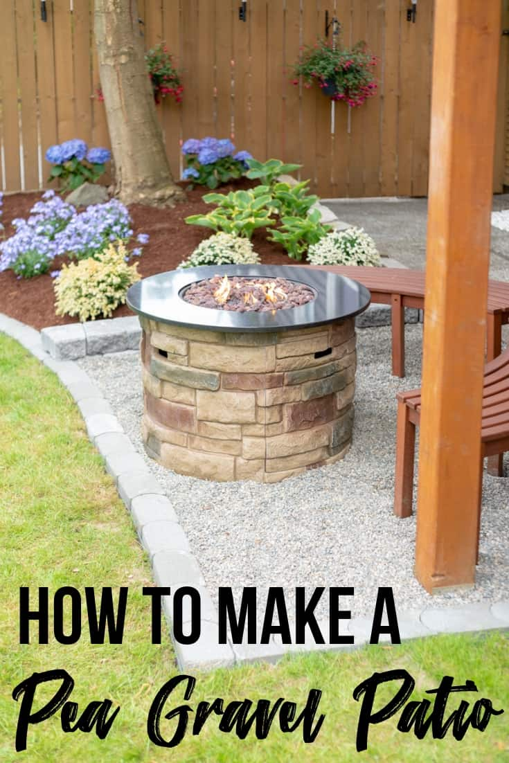 How to Make a Pea Gravel Patio in a Weekend - The Handyman ...
