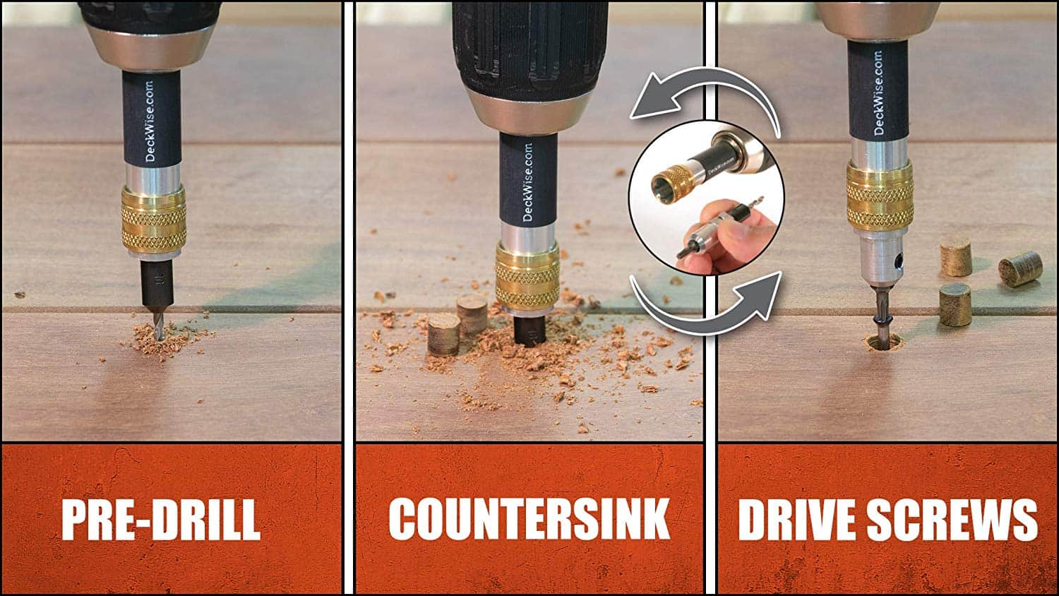 deck countersink kit