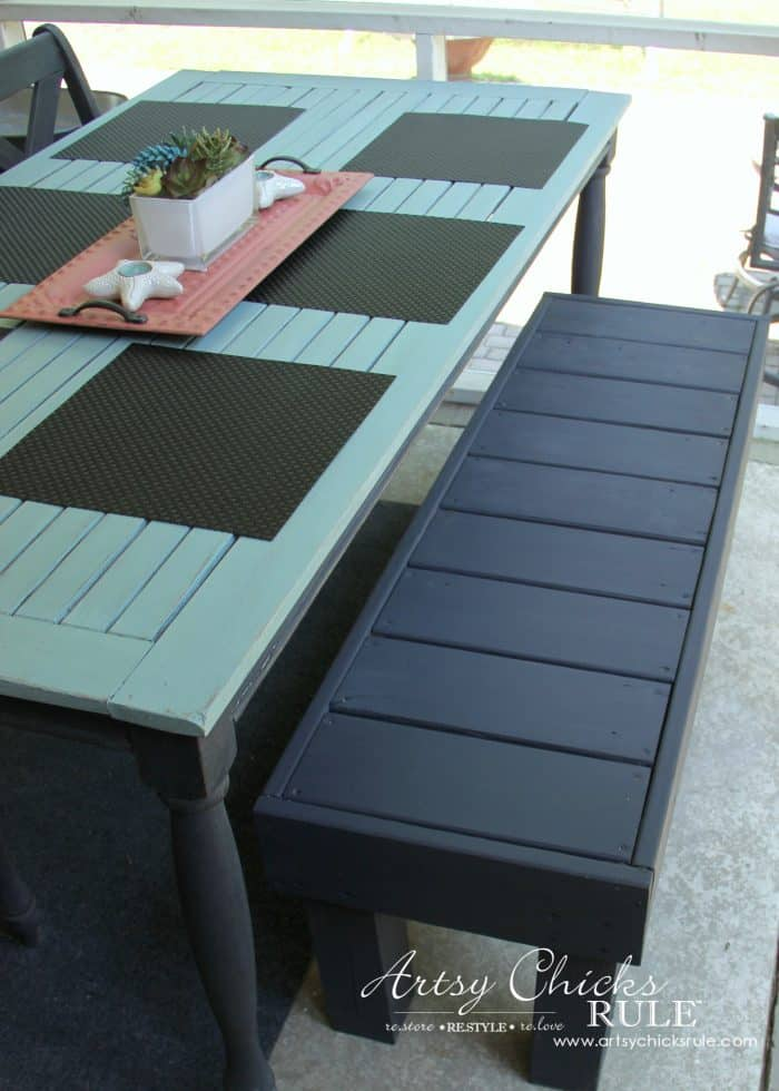 Simple DIY Outdoor Bench