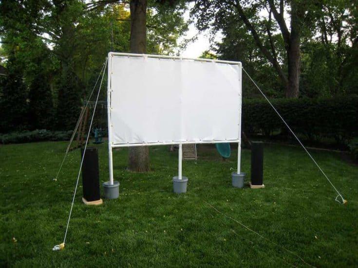 Backyard Movie Theater