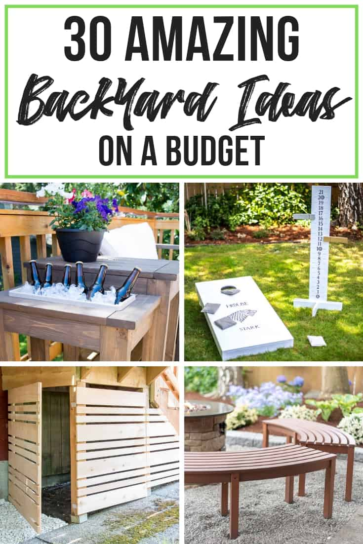 30 Amazing Backyard Ideas on a Budget - The Handyman's ... on Patio Designs On A Budget id=45987
