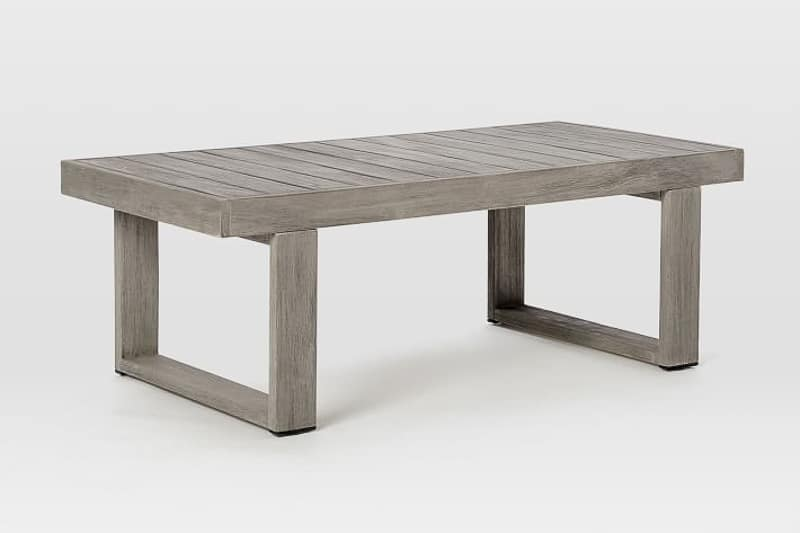 West Elm outdoor coffee table