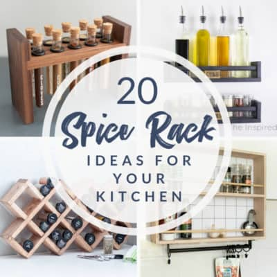 20 spice rack ideas for your kitchen