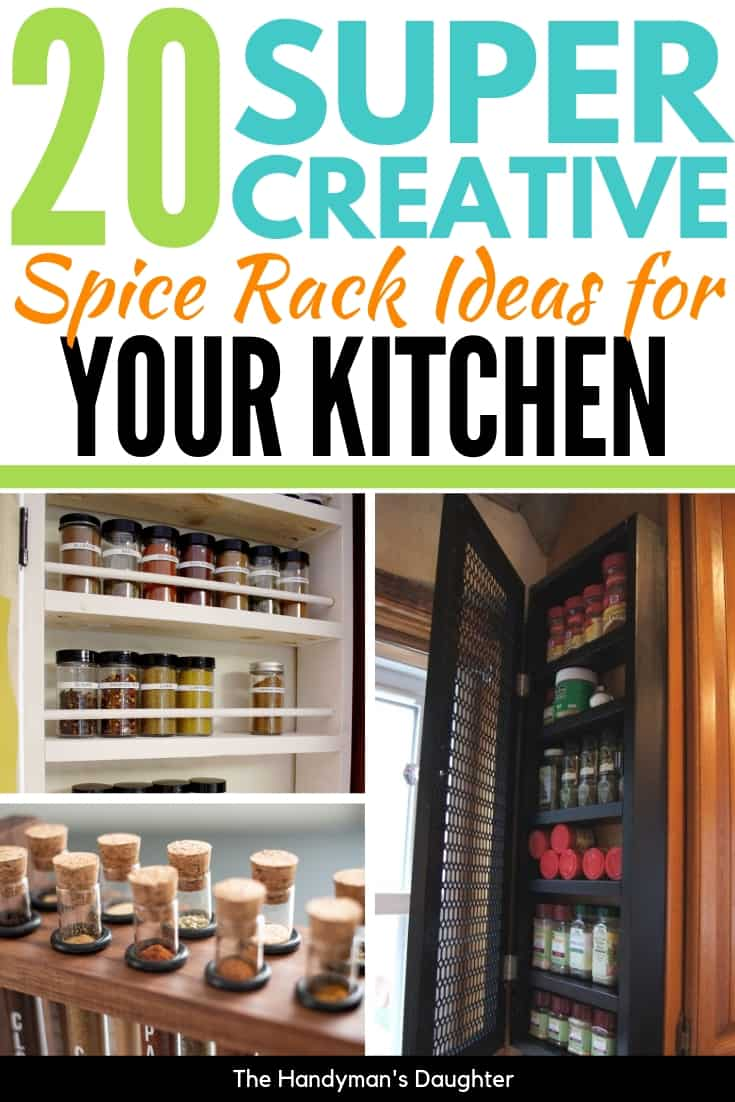 20 creative spice rack ideas for your kitchen