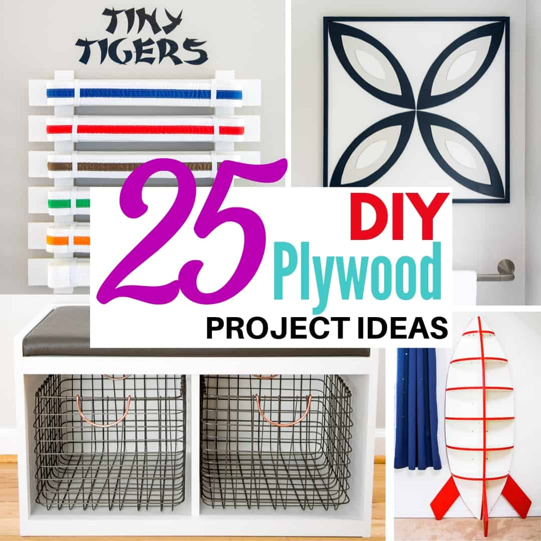 25 DIY Plywood Project Ideas