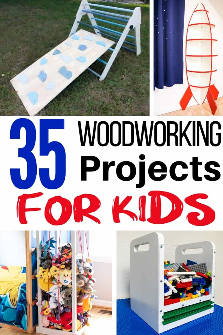 35 woodworking projects for kids