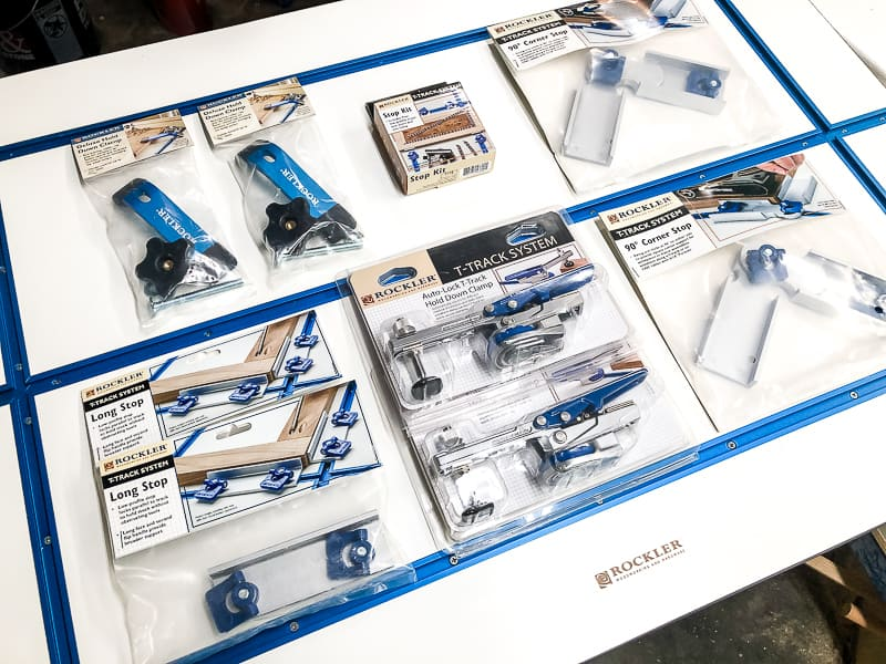 t-track accessories from Rockler