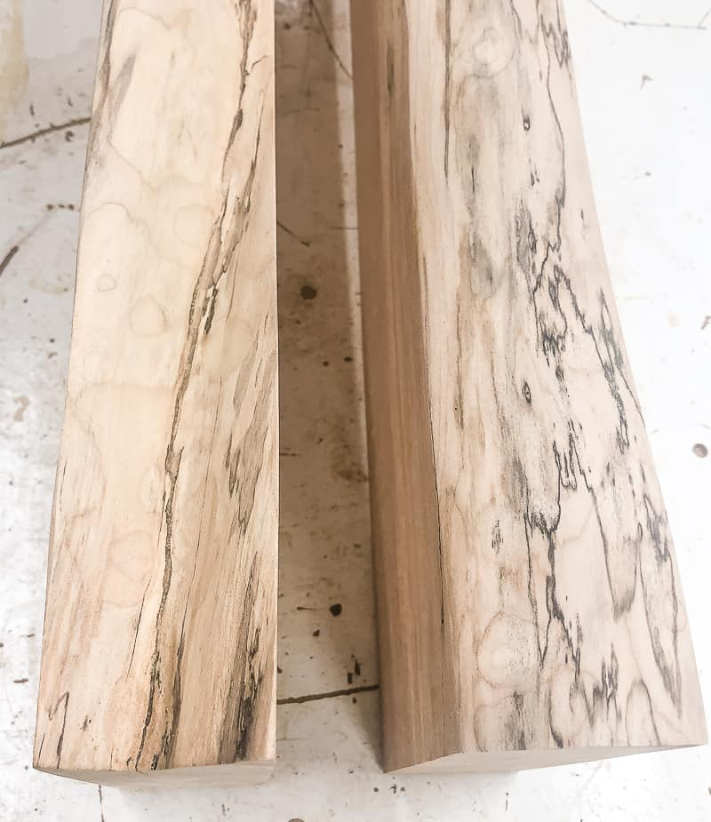 spalted maple live edge boards