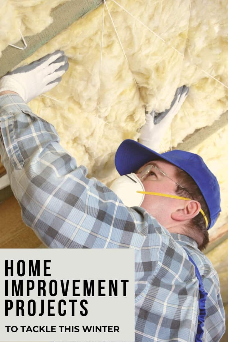DIY home improvement projects to tackle this winter