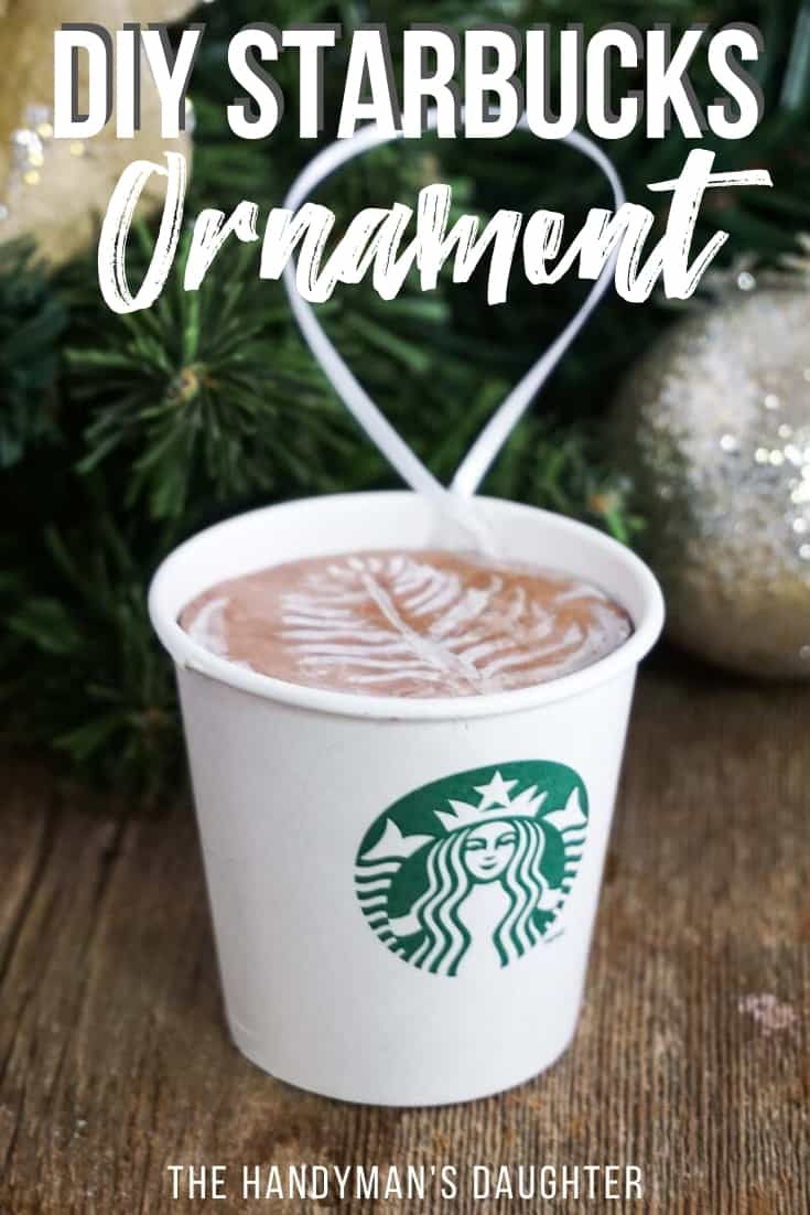DIY Starbucks ornament