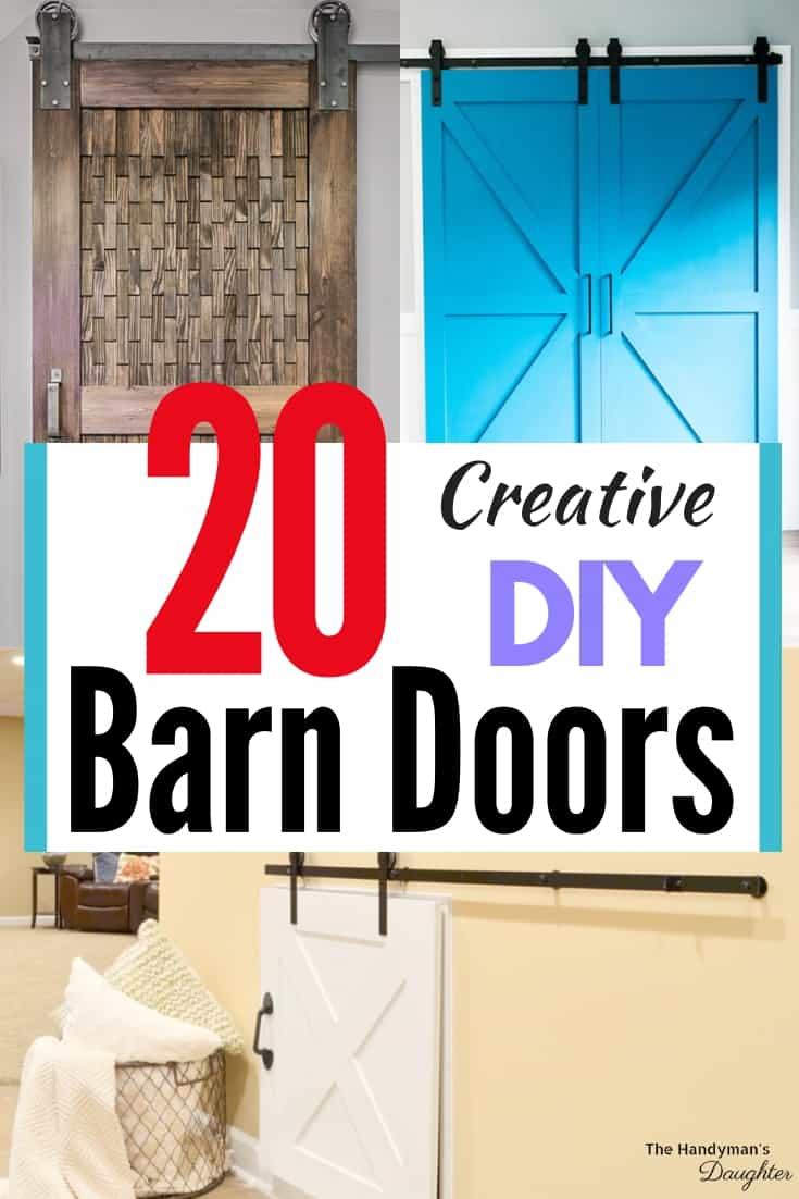 20 creative DIY barn door ideas
