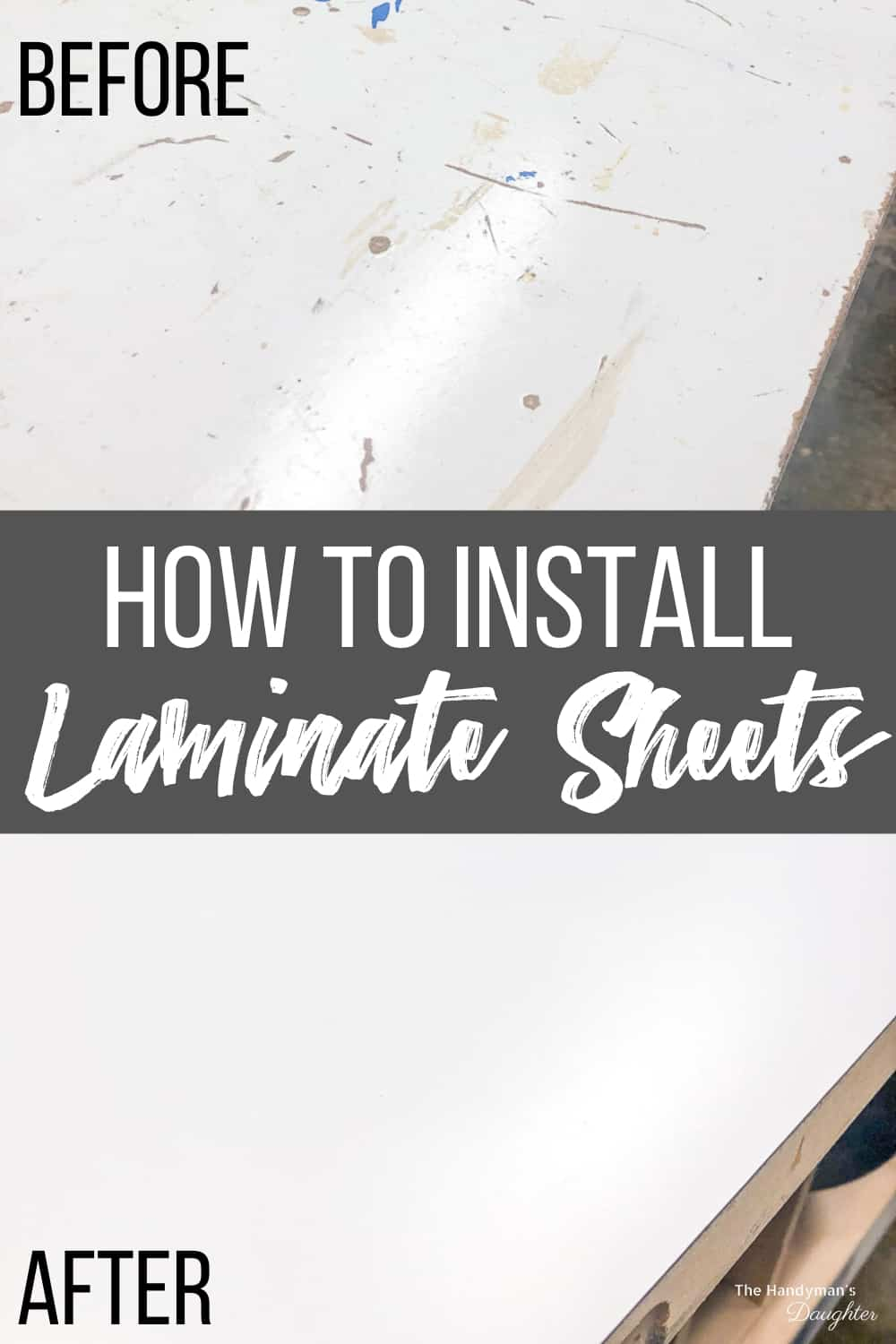 how to cut laminate sheets