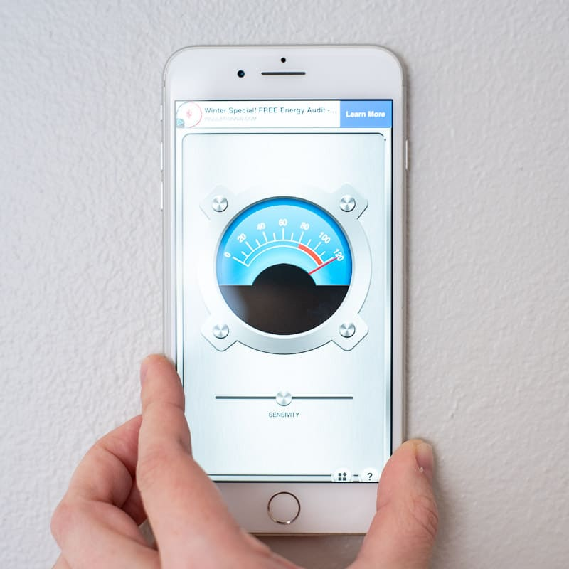smartphone stud finder app