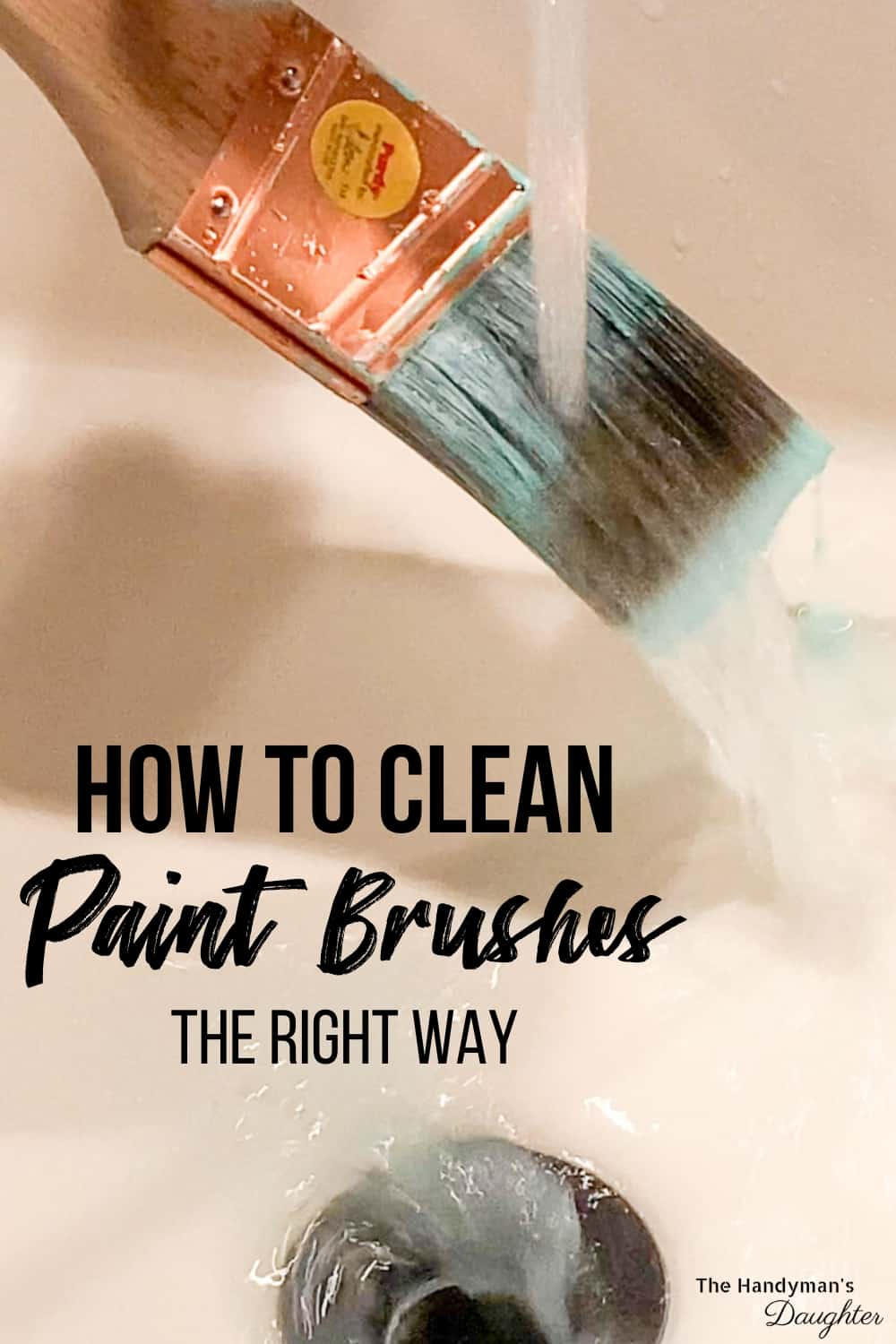 how to clean paint brushes the right way