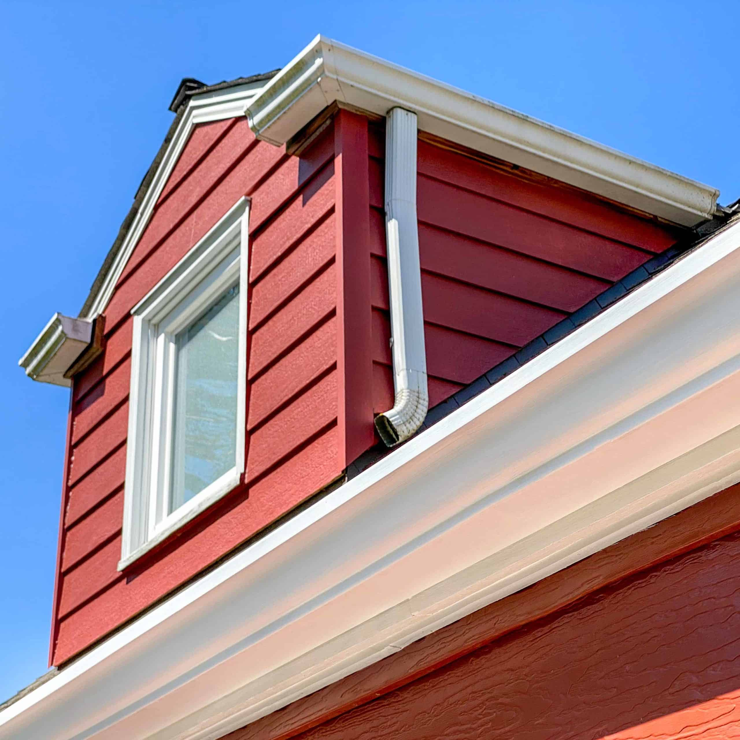 painted soffits and fascia