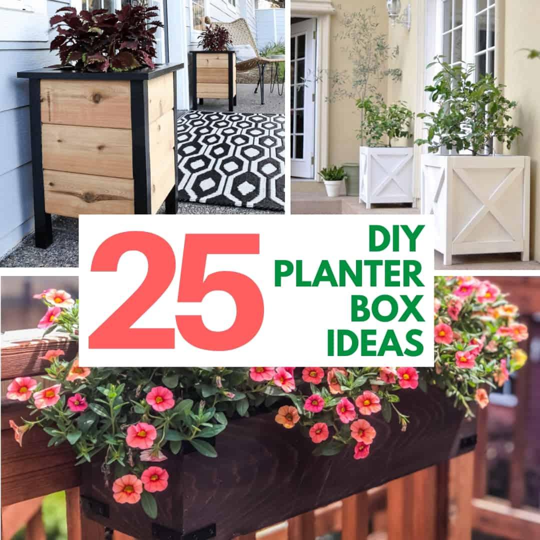 25 DIY Planter Box Design Ideas