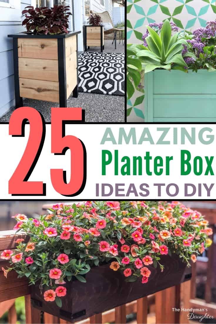 25 DIY planter box designs with plans