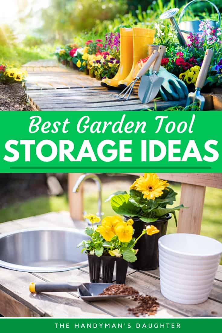 Best garden tool storage ideas