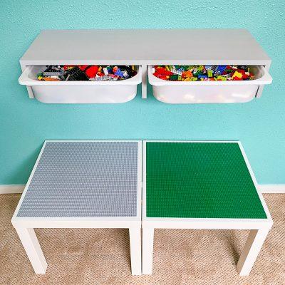 IKEA Trofast bin shelf