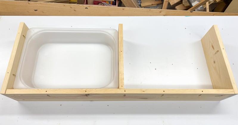 Trofast shelf frame complete