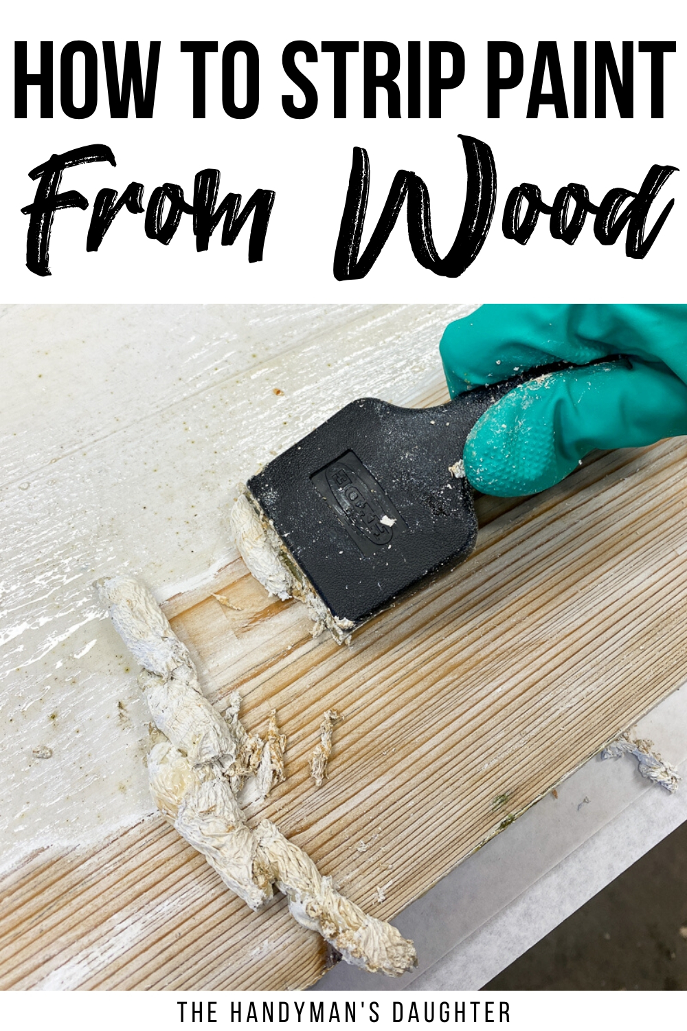 Learn how to strip paint from wood in this tutorial