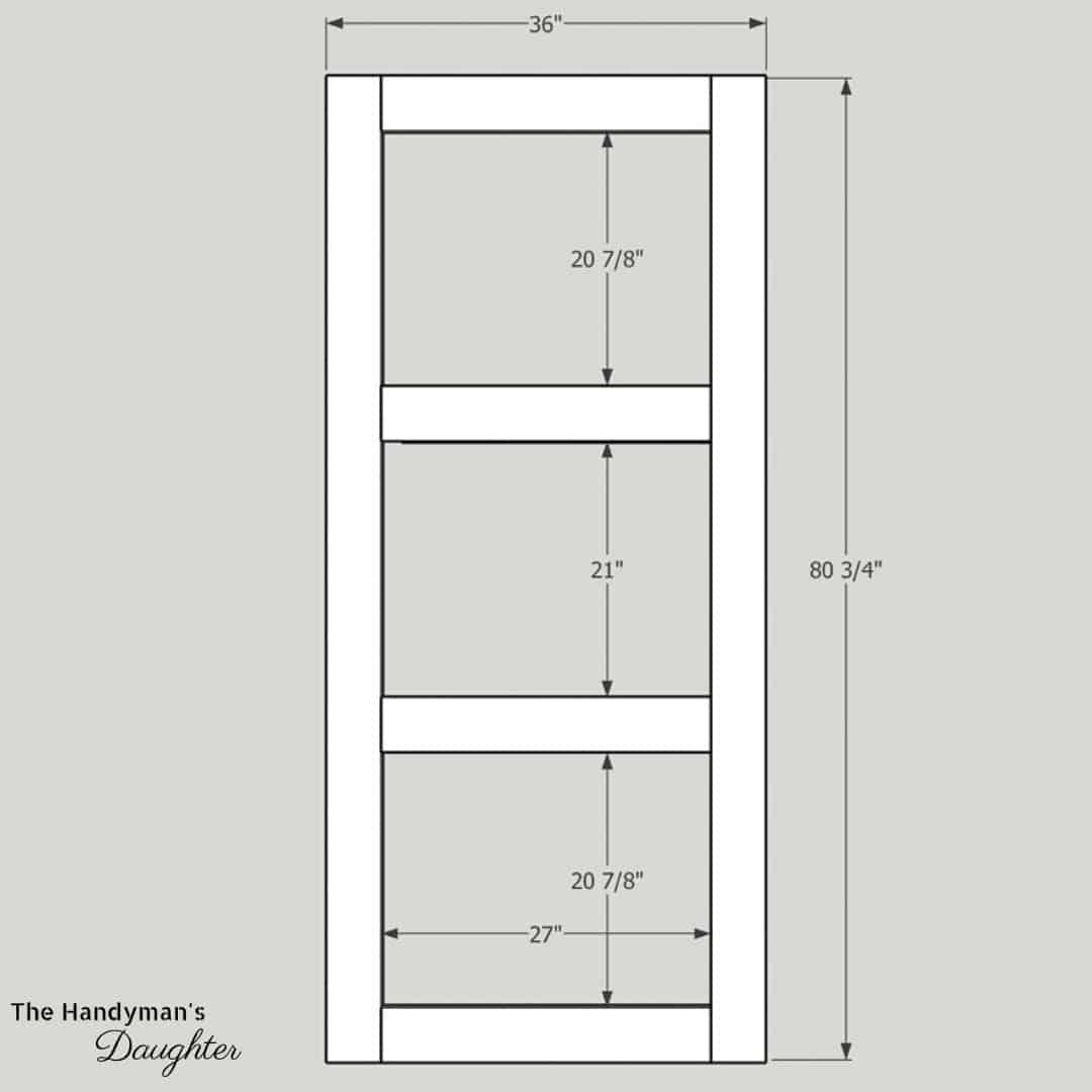 DIY screen door plans