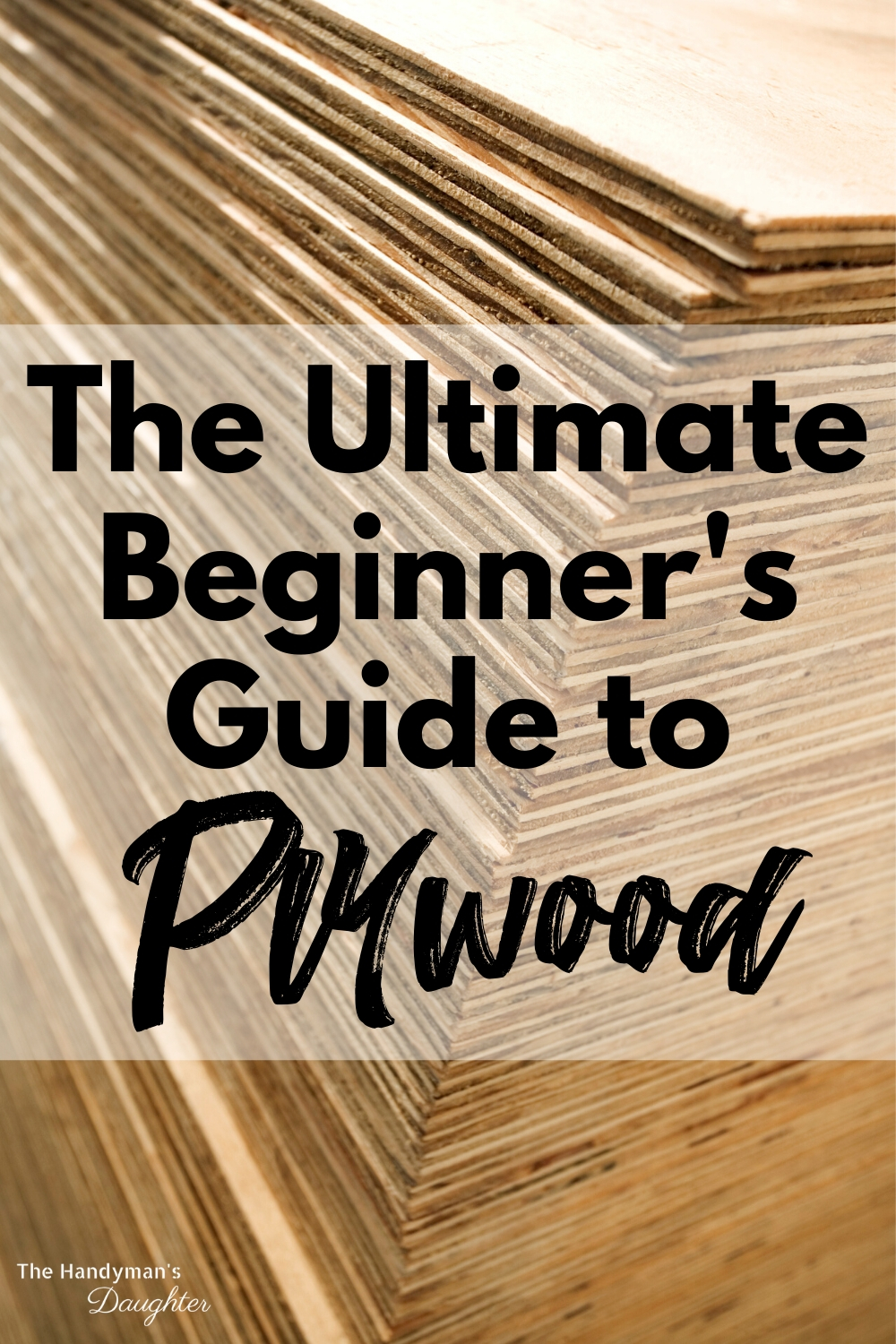 The ultimate beginner's guide to types of plywood