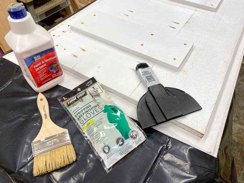 tools for stripping paint off wood